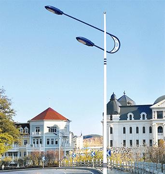用于外部照明技术的灯具有多种颜色