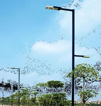 夜景灯光能够使城市的工程建筑