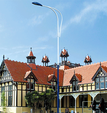 亮化工程的基本建设使城市时代气息浓郁